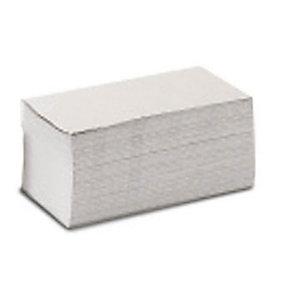 Asciugamano di carta piegato, 1 velo, In carta riciclata, 250 mm, Bianco (confezione 4.000 pezzi)