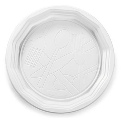 Assiette plastique