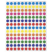 Assortiment gekleurde signaaletiketten