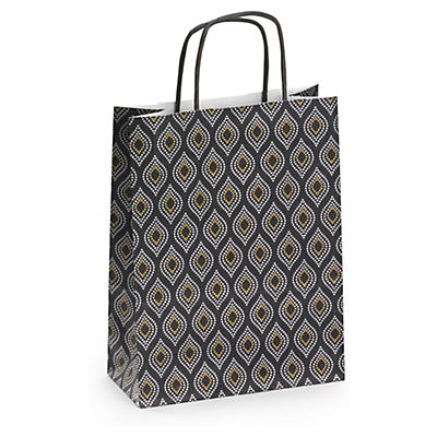 Astral design Kraft paper carrier bags