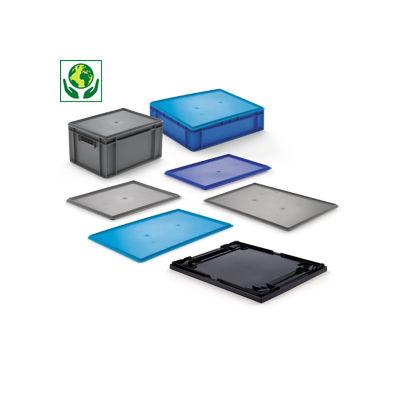 Auflagedeckel für Euronorm-Stapelbehälter