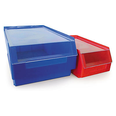 Couvercle anti-poussière transparent pour bac à bec couleur##Auflagedeckel für Kappes Sichtlagerkästen