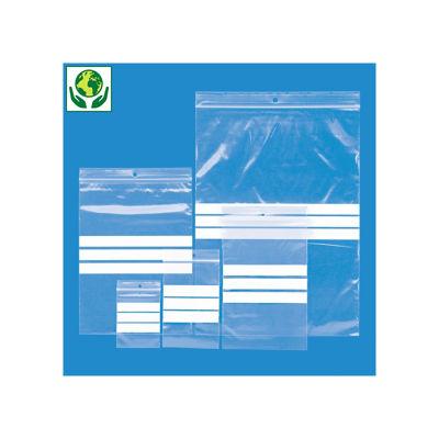 Auswahl-Set RAJAGRIP ECO Druckverschlussbeutel mit 3 Beschriftungsfeldern