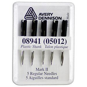AVERY DENNISON Aiguilles pour pistolet à étiqueter standard - Métal