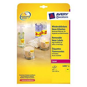 Avery - etiketten - 20 stuks
