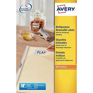 Avery - étiquettes - 25 étiquette(s)