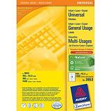 Avery - étiquettes multi-emploi - 1400 étiquette(s) - 105 x 42.3 mm