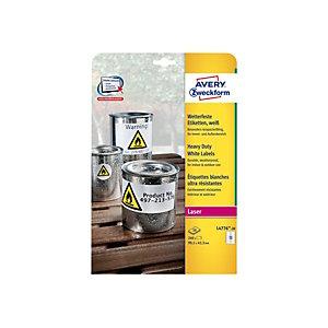 Avery Heavy Duty Laser Labels - étiquettes - 240 étiquette(s)