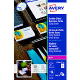 Avery Quick&Clean Tarjetas de visita a doble cara satinado 220 g/m²