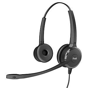 Axtel Prime HD Duo - Casque filaire QD Stéréo - Noir