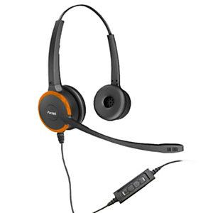 Axtel Prime MS HD Duo NC USB - Casque filaire Stéréo - Noir