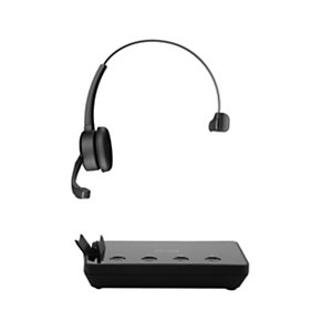 Axtel Prime X3 Mono - Casque sans fil + Station de recharge - Noir
