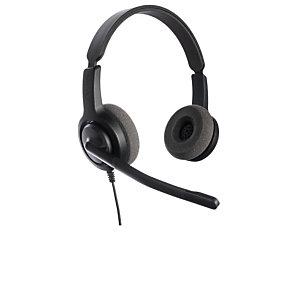 Axtel Voice 28 Duo NC QD - Casque filaire Stéréo - Noir