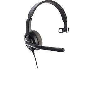 Axtel Voice 28 Mono NC QD - Casque filaire - Noir