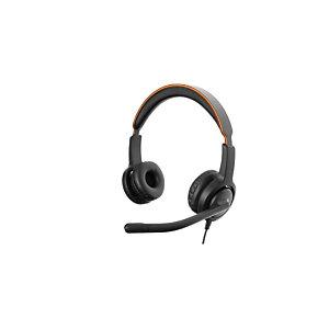 Axtel Voice 40 Duo NC QD - Casque filaire Stéréo - Noir