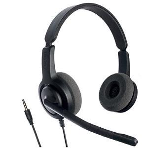Axtel Voice PC28 HD Duo NC - Casque filaire Stéréo Jack 3,5 mm - Noir