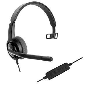Axtel Voice UC28 HD Mono NC - Casque filaire USB - Noir