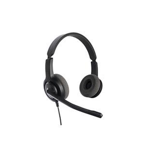 Axtel Voice USB28 HD Duo NC - Casque filaire Stéréo - Noir