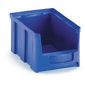Bac à bec plastique grande ouverture bleu