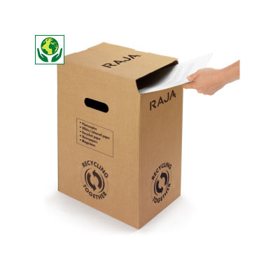 Bac à papier 70 % recyclé