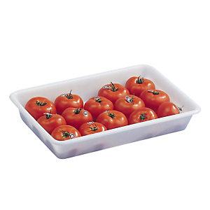 Bac de préparation alimentaire blanc 5 L Gilac