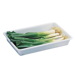 Bac de préparation alimentaire blanc 8 L Gilac
