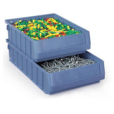 Bac tiroir à compartiments##Regalkästen ohne Sichtöffnung
