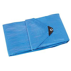 Bâche de protection polyéthylène 105 g/m², 8 x 6m