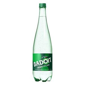 Badoit Eau minérale gazeuse, bouteille, 1l