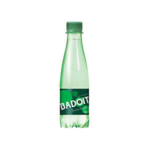 Badoit Verte, Eau minérale naturelle pétillante - bouteille 33 cl
