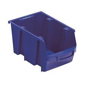 Bakje met schuine wand blauw 4L