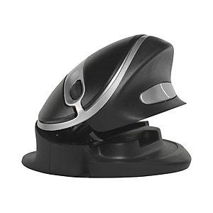 Bakker Elkhuizen Souris verticale Oyster Mouse sans fil