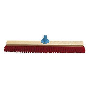 Balai industriel PVC rouge 80 cm