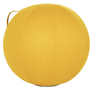 Ballon d'assise ergonomique jaune Alba