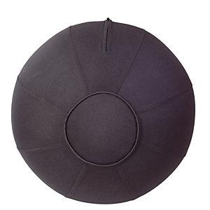 Ballon d'assise ergonomique noir Alba
