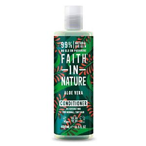 Balsamo Rigenerante Aloe Vera Faith in Nature, Flacone 400 ml