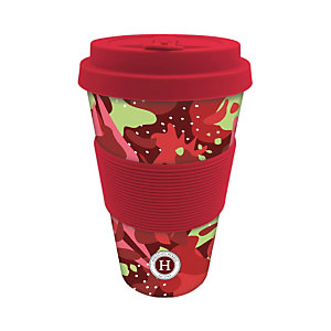 Bamboo Mug Himalaya, 400 ml, Rosso