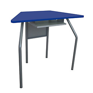 Banco per ambienti creativi, 87,6 x 43,5 x 70 cm, Blu