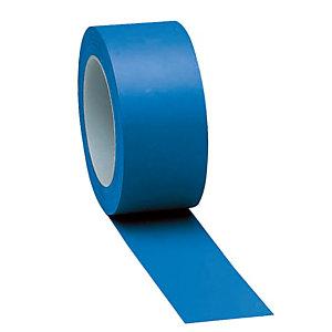 Bande adhésive de marquage des sols haute résistance uni bleu