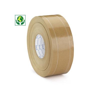 Bande gommée armée, 90 g/m²##Versterkte gegomde kleefband, 90 g/m²