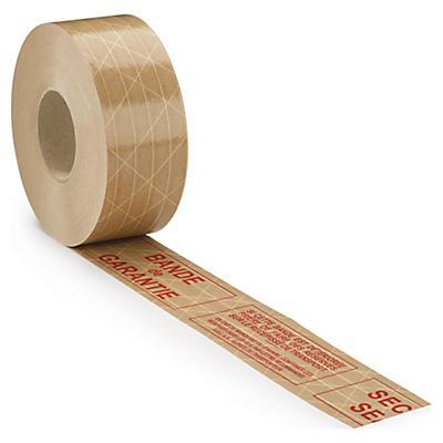 Bande gommée armée imprimée 130 g/m2
