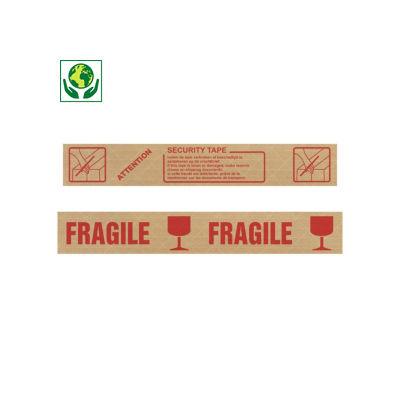 Bande gommée armée avec message pré-imprimé, 130 g/m²