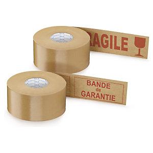 Bande gommée standard avec message 70 g/m² RAJA