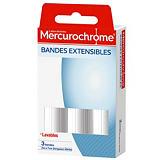 Bandes extensibles Mercurochrome, 2 boîtes de 3 bandes