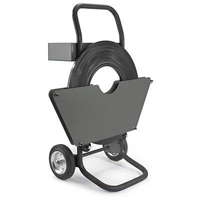Båndvogn til enkeltspolede stålbånd