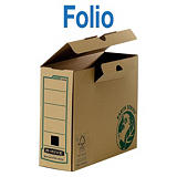 Bankers Box Caja Archivo Definitivo Cartón Folio, Tapa fija, Marrón, 373 x 150 x 258 mm