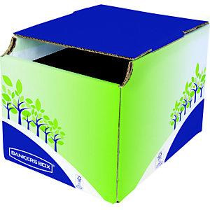 Bankers Box Corbeille de tri sélectif pour le recyclage des papiers - 16L