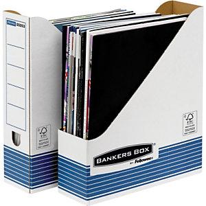Bankers Box Portariviste A4 Linea ''Bankers Box'' - Dorso 8 cm (confezione 10 pezzi)