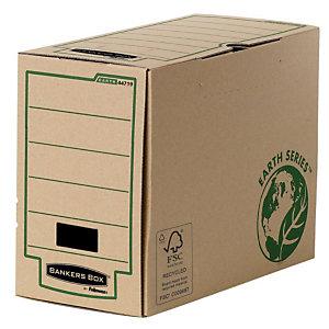 Bankers Box Scatola archivio Banker Box, Cartone, Avana, 260 mm x 374 mm x 150 mm (confezione 20 pezzi)