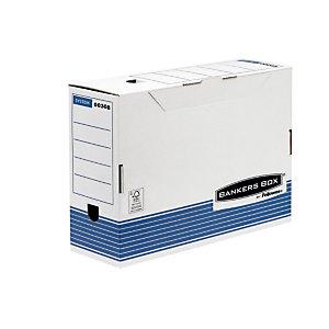 Bankers Box Scatola archivio Banker Box, Cartone, Bianco e blu, 260 mm x 360 mm x 100 mm (confezione 10 pezzi)